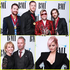 Imagine Dragons, Sting & Bebe Rexha Honored at BMI's Pop Awards 2019!