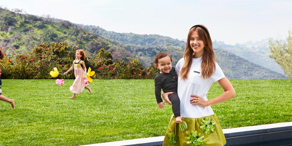 Jessica Alba & Husband Cash Warren Show Off Their Beverly