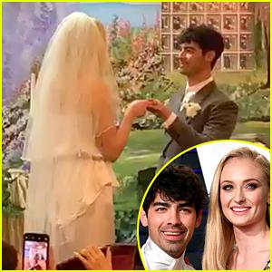 Joe Jonas & Sophie Turner Get Married in Las Vegas Wedding!