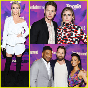 Julianne Hough, Josh Dallas & More TV Stars Celebrate Upfronts at 'EW' & 'People' Party!