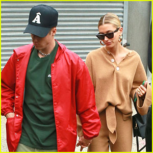 Justin & Hailey Bieber Hold Hands After New York City Lunch