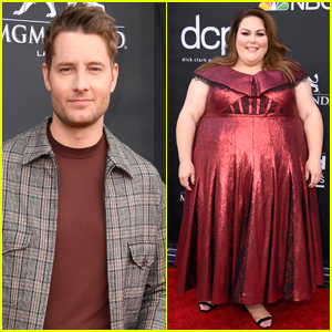Justin Hartley & Chrissy Metz Step Out for Billboard Music Awards 2019!