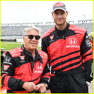 Justin Hartley Serves As Honorary Starter at INDYCAR Grand Prix!
