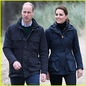 Kate Middleton & Prince William Journey to the Beach in Wales!