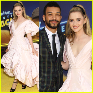 Kathryn Newton & Justice Smith Hit the Yellow Carpet at 'Detective Pikachu' Premiere