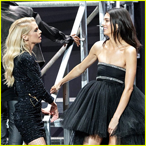 Kendall Jenner & Stella Maxwell's amfAR Gala Fashion Show Looks Were Auctioned Off For Over $25,000 Each!