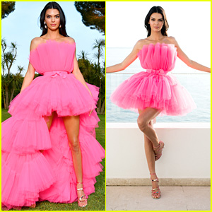 Kendall Jenner Wears Gorgeous Pink Gown to amfAR Cannes Gala 2019