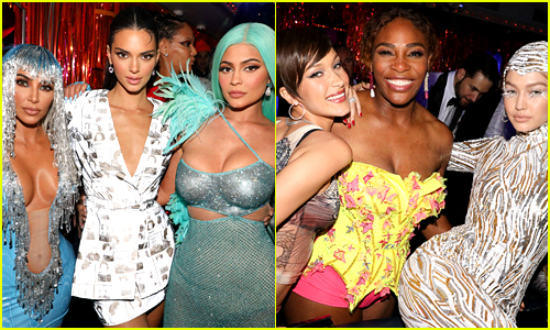 Look Inside Kim Kardashian & Serena Williams' Met Gala After Party!