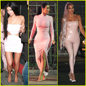 Kylie Jenner Gets Support From Khloe, Kim & Kourtney Kardashian at Kylie Skin Launch