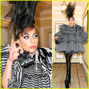 Lady Gaga Wows in Over the Top Outfit for Anna Wintour's Pre-Met Gala Dinner!