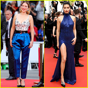 Lea Seydoux Premieres 'Oh, Mercy' in Cannes, Adriana Lima & More Attend!