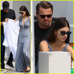 Leonardo DiCaprio & Camila Morrone Couple Up For Yacht Ride in Cannes