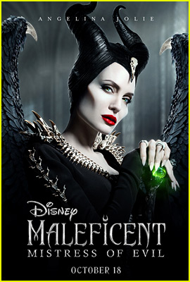 Angelina Jolie Spreads Her Wings on New 'Maleficent' Poster!