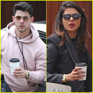 Nick Jonas & Priyanka Chopra Return Home After Brother Joe's Vegas Wedding!