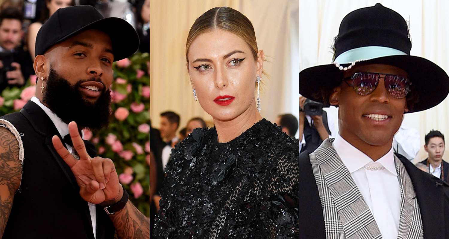 398df538dcacd1 Maria Sharapova Joins Odell Beckham Jr & Cam Newton at Met Gala 2019 | 2019  Met Gala, Alexander Gilkes, Cam Newton, Lala Anthony, Lilly Singh, ...