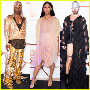 'Pose's Billy Porter & Mj Rodriguez Switch It Up at Ryan Murphy's Met Gala After Party!