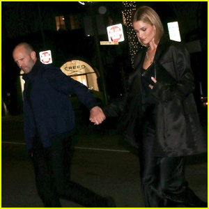 Rosie Huntington-Whiteley Couples Up With Jason Statham For Dinner Date in LA