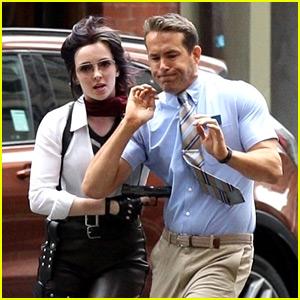 Ryan Reynolds Begins Filming Video Game Movie 'Free Guy' with Gun-Toting Jodie Comer!