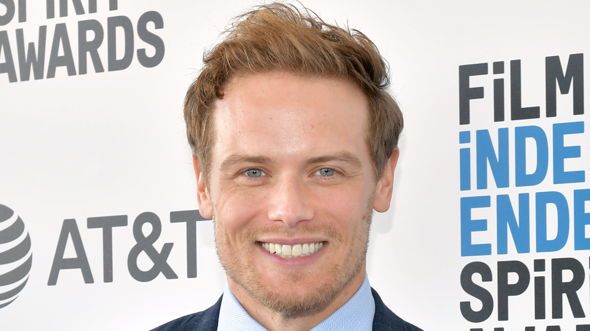 Sam Heughan Reacts to News He's Receiving an Honorary Doctorate