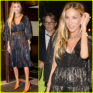 Sarah Jessica Parker Supports Matthew Broderick at 'The Starry Messenger' Opening Night!