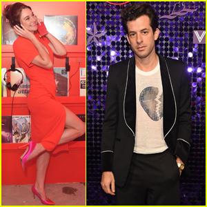 Shailene Woodley & Mark Ronson Celebrate Scarlet Night in London