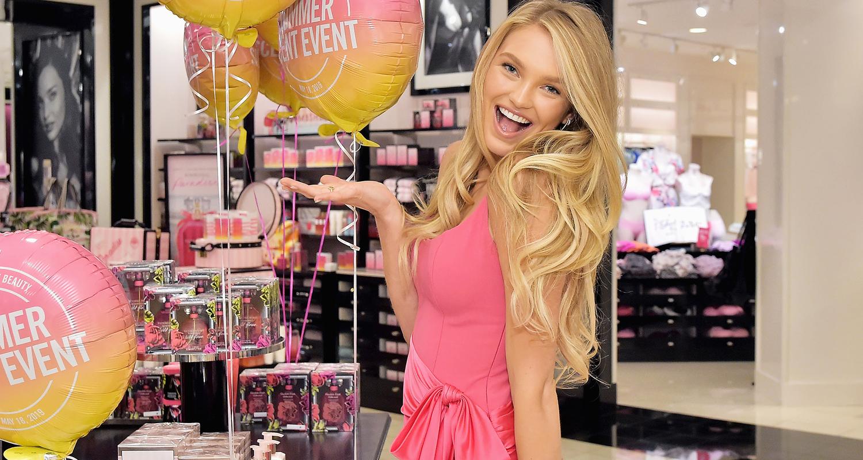Romee Strijd Celebrates Summer Scents at Victoria's Secret