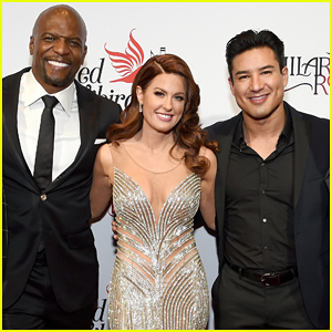Terry Crews & Mario Lopez Help Hilary Roberts Celebrate The Red Songbird Foundation!