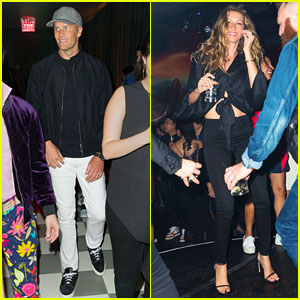 Tom Brady & Gisele Bundchen Dance It Out at Harry Josh Pro Tools' 6th Anniversary Party!