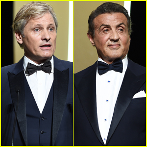 Viggo Mortensen & Sylvester Stallone Suit Up for Cannes Film Festival 2019 Closing Ceremony