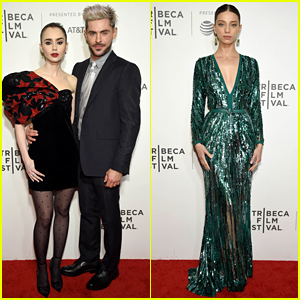 Zac Efron & Lily Collins Bring 'Extremely Wicked' to the Tribeca Film Festival