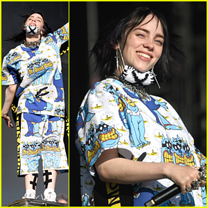 Billie Eilish Performs at