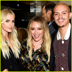 Hilary Duff, Ashlee Simpson & More Mingle Saint Candle Launch