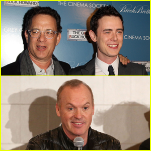 Colin Hanks Jokingly Wishes Michael Keaton Happy Father's Day Instead of Tom Hanks!