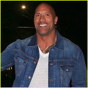 Dwayne Johnson is All Smiles During Night Out!