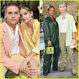 Dylan Sprouse & Barbara Palvin Couple Up For Salvatore Ferragamo Show in Florence