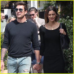 Dylan McDermott Holds Hands with Mystery Woman During Lunch Outing!