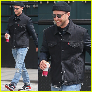 480f151f307 Justin Timberlake Steps Out After Being Honored in Songwriters Hall of Fame