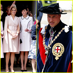 Kate Middleton & Prince William Couple Up at Order of the Garter 2019!
