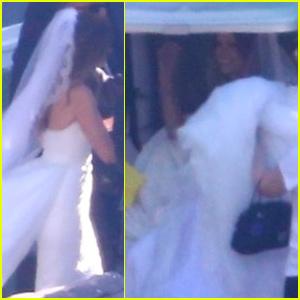 Katherine Schwarzenegger Looks Stunning During Wedding to Chris Pratt - See The Photos!