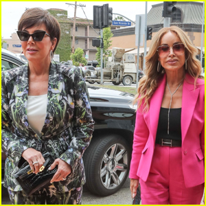 Kris Jenner Heads to Lunch with BFF Faye Resnick