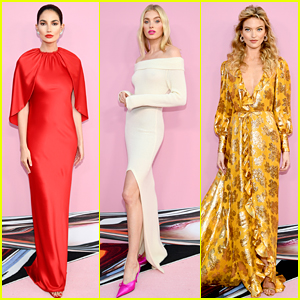 VS Angels Lily Aldridge, Elsa Hosk, & Martha Hunt Stun at the CFDA Fashion Awards!
