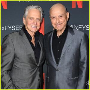 Michael Douglas & Alan Arkin Buddy Up for 'The Kominsky Method' FYC Screening