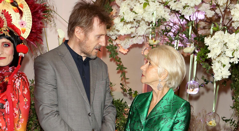 Helen Mirren & Liam Neeson Get Together Again, Decades After