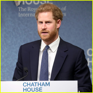 Prince Harry Gives Passionate Speech About Clearing Landmines in Angola - Watch Now