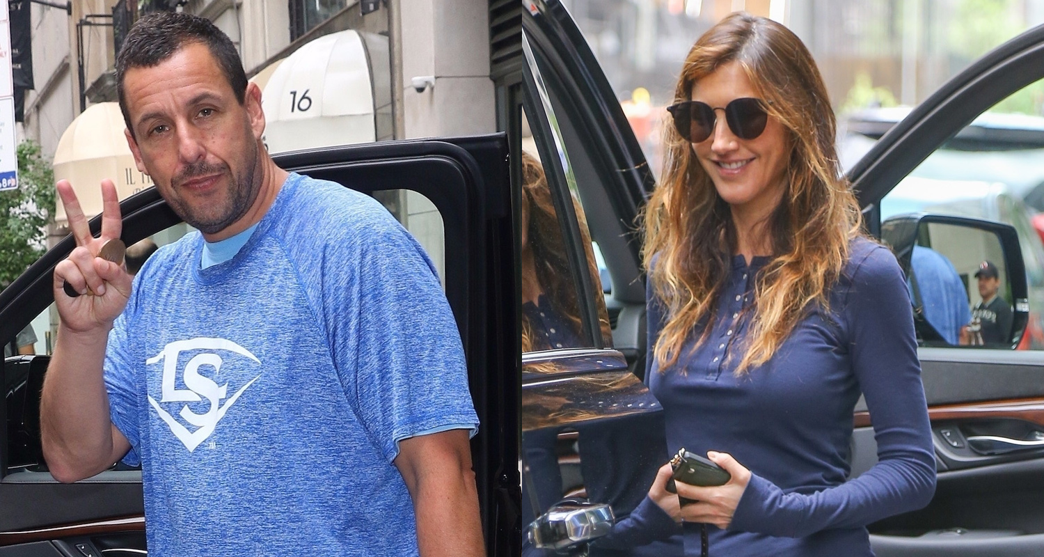 Adam Sandler & Wife Jackie Step Out After 'Murder Mystery ...