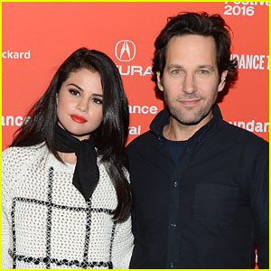 Selena Gomez Reunites with 'Fundamentals of Caring' Co-Star Paul Rudd For Big Slick Charity Weekend