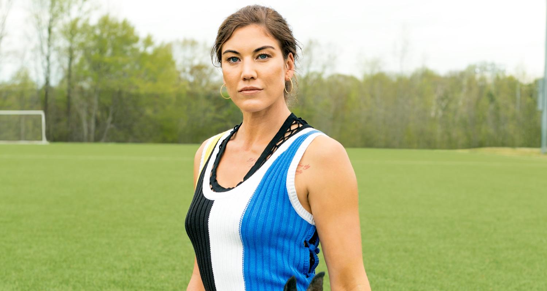 Soccer Star Hope Solo Talks About Her Devastating
