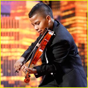 11-Year-Old Violinist Tyler Butler-Figueroa Earns Simon Cowell's Golden Buzzer on 'America's Got Talent' - Watch!