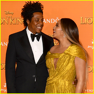 Beyonce & Jay-Z Look So In Love Together at 'Lion King' European Premiere!