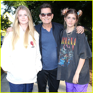 Charlie Sheen Sons 2014